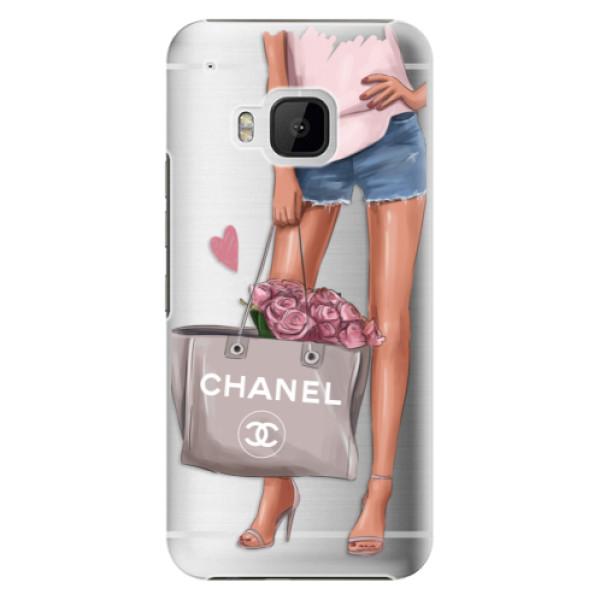 Plastové puzdro iSaprio - Fashion Bag - HTC One M9