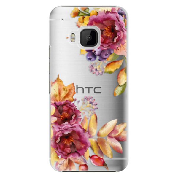 Plastové puzdro iSaprio - Fall Flowers - HTC One M9