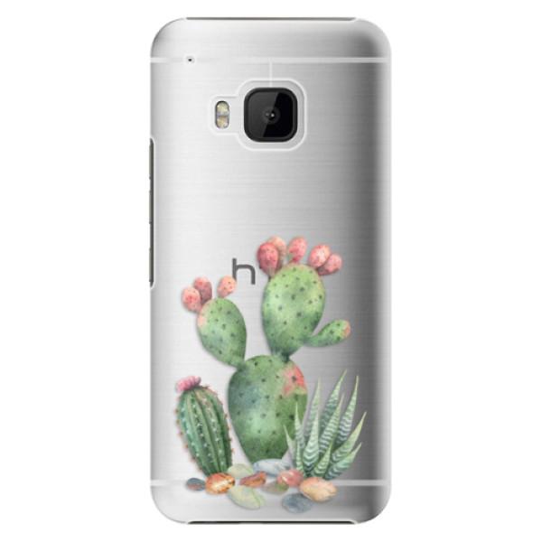 Plastové puzdro iSaprio - Cacti 01 - HTC One M9