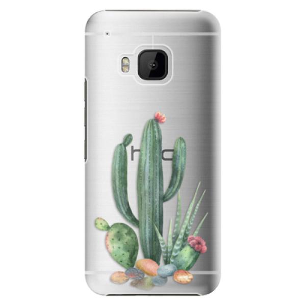 Plastové puzdro iSaprio - Cacti 02 - HTC One M9