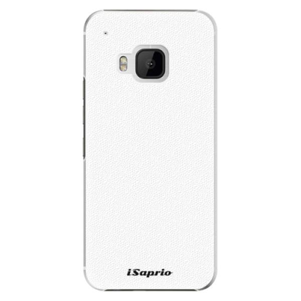 Plastové puzdro iSaprio - 4Pure - bílý - HTC One M9