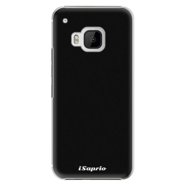 Plastové puzdro iSaprio - 4Pure - černý - HTC One M9