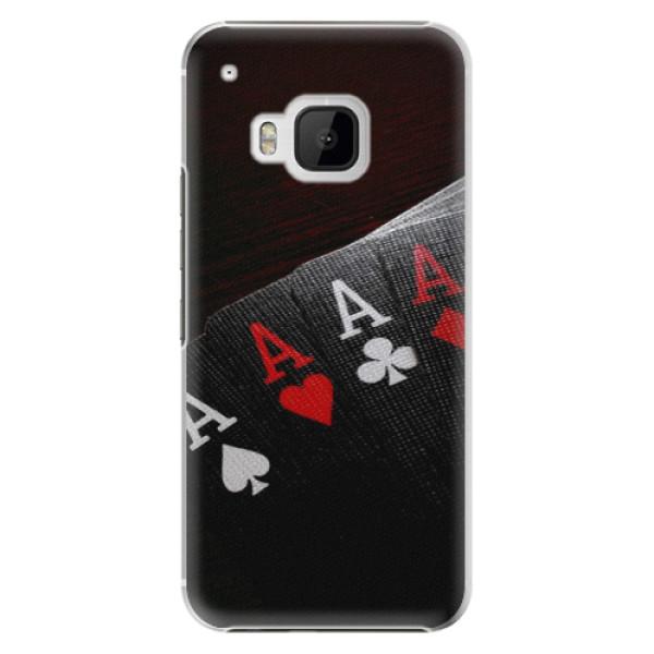 Plastové puzdro iSaprio - Poker - HTC One M9