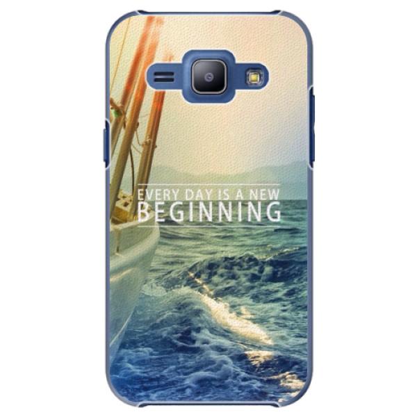 Plastové puzdro iSaprio - Beginning - Samsung Galaxy J1