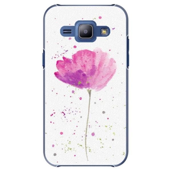 Plastové puzdro iSaprio - Poppies - Samsung Galaxy J1