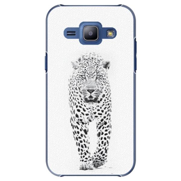 Plastové puzdro iSaprio - White Jaguar - Samsung Galaxy J1