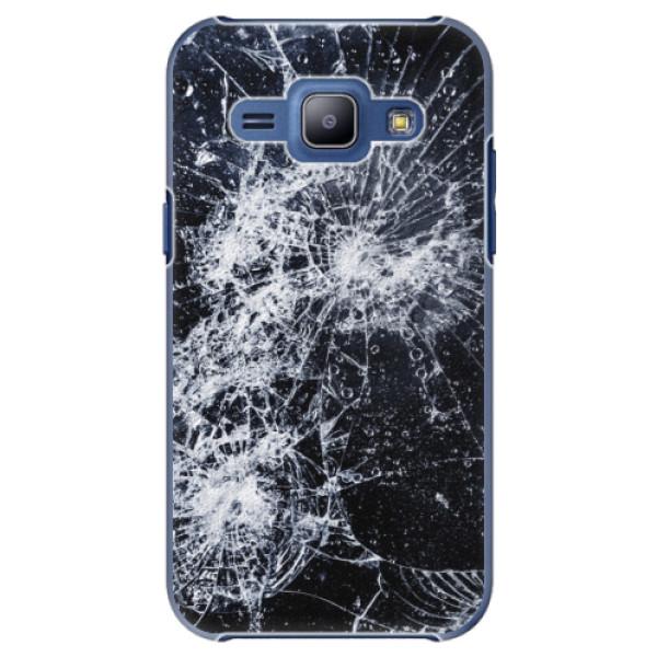 Plastové puzdro iSaprio - Cracked - Samsung Galaxy J1
