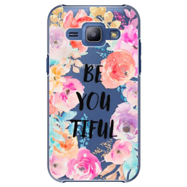 Plastové puzdro iSaprio - BeYouTiful - Samsung Galaxy J1