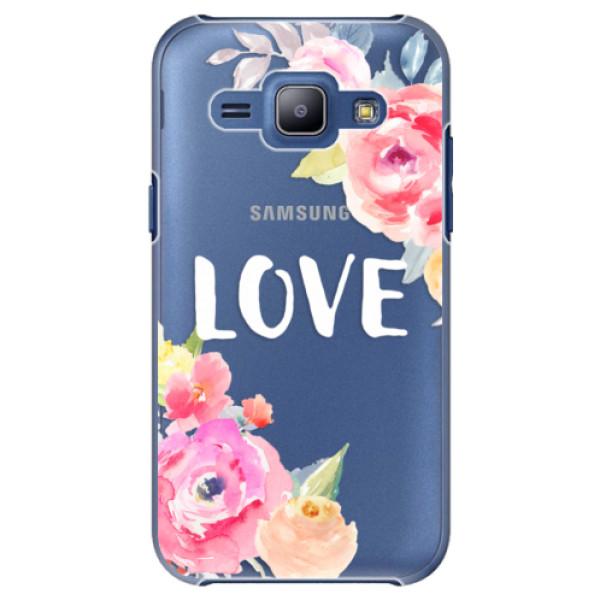 Plastové puzdro iSaprio - Love - Samsung Galaxy J1