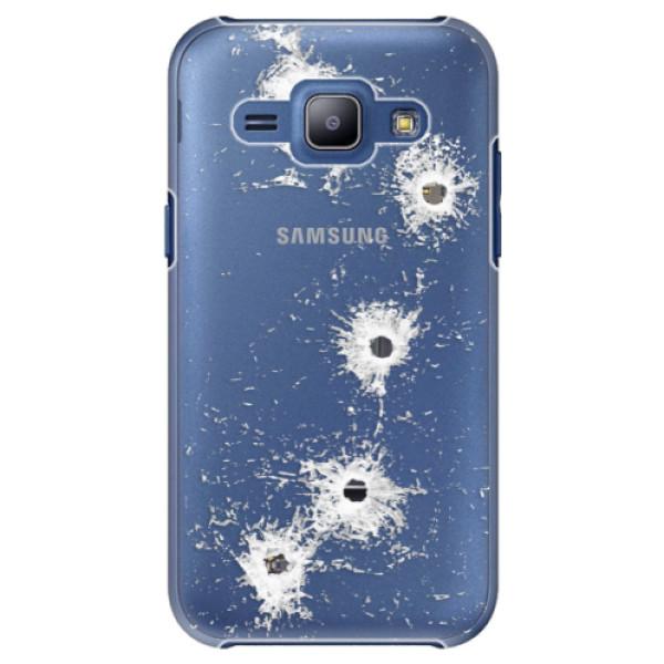 Plastové puzdro iSaprio - Gunshots - Samsung Galaxy J1
