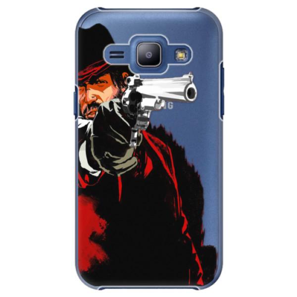 Plastové puzdro iSaprio - Red Sheriff - Samsung Galaxy J1