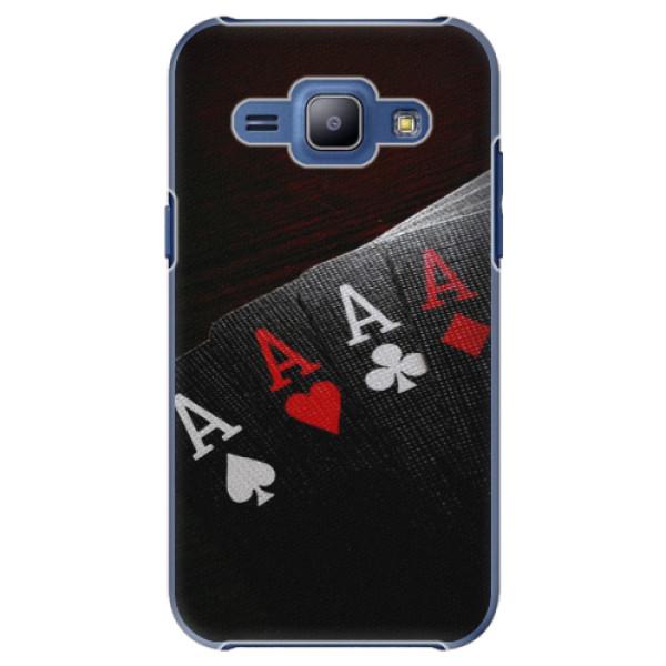Plastové puzdro iSaprio - Poker - Samsung Galaxy J1
