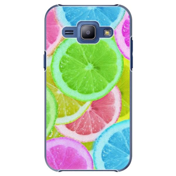 Plastové puzdro iSaprio - Lemon 02 - Samsung Galaxy J1
