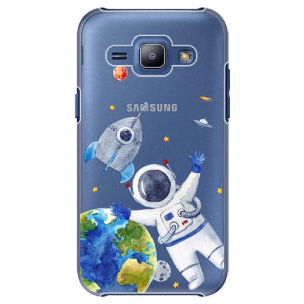 Plastové puzdro iSaprio - Space 05 - Samsung Galaxy J1