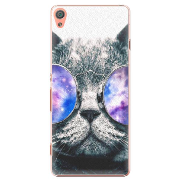 Plastové puzdro iSaprio - Galaxy Cat - Sony Xperia XA