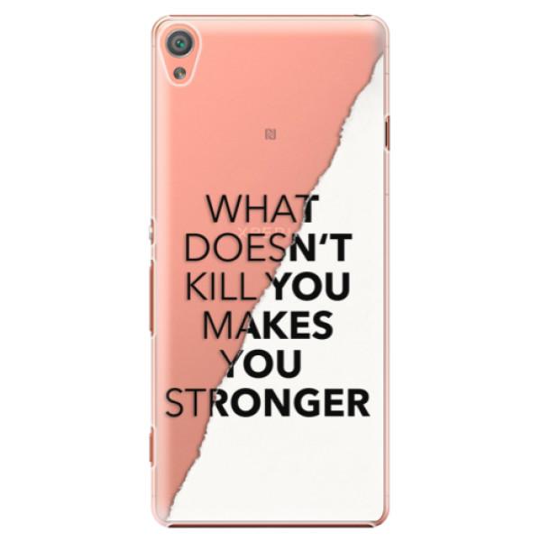 Plastové puzdro iSaprio - Makes You Stronger - Sony Xperia XA