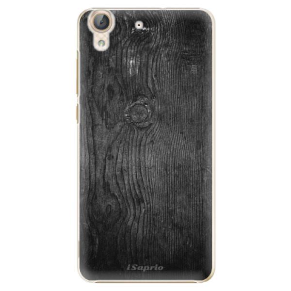 Plastové puzdro iSaprio - Black Wood 13 - Huawei Y6 II