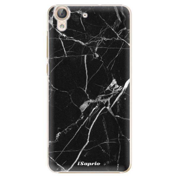 Plastové puzdro iSaprio - Black Marble 18 - Huawei Y6 II