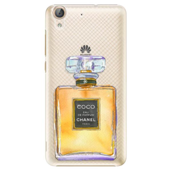 Plastové puzdro iSaprio - Chanel Gold - Huawei Y6 II