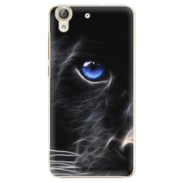 Plastové puzdro iSaprio - Black Puma - Huawei Y6 II