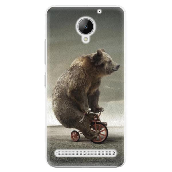 Plastové puzdro iSaprio - Bear 01 - Lenovo C2