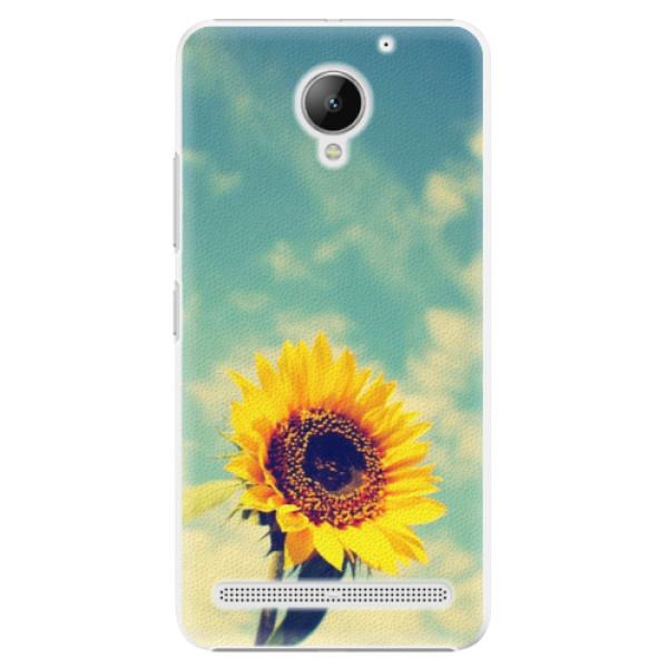 Plastové puzdro iSaprio - Sunflower 01 - Lenovo C2