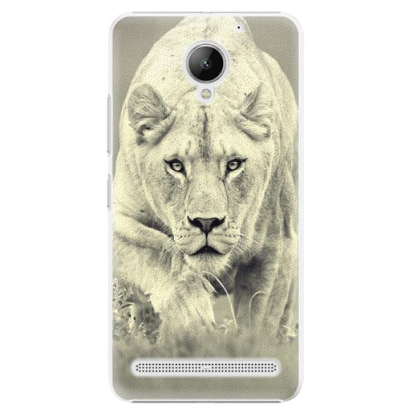 Plastové puzdro iSaprio - Lioness 01 - Lenovo C2