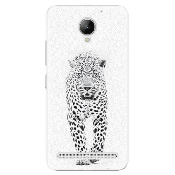 Plastové puzdro iSaprio - White Jaguar - Lenovo C2