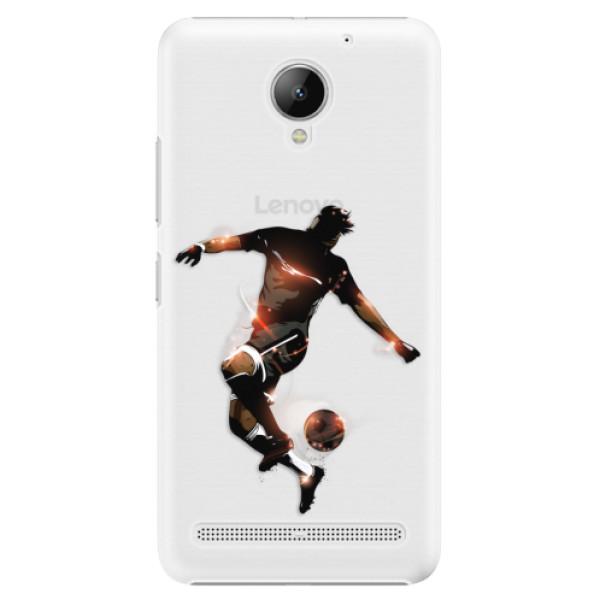 Plastové puzdro iSaprio - Fotball 01 - Lenovo C2