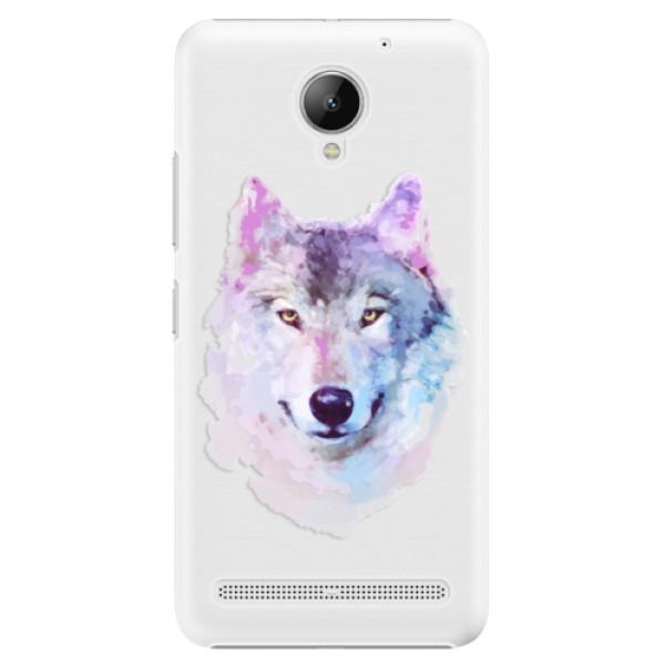 Plastové puzdro iSaprio - Wolf 01 - Lenovo C2