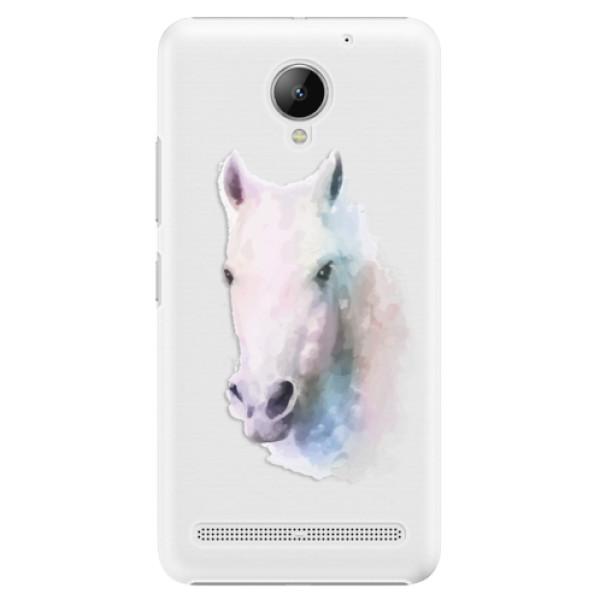 Plastové puzdro iSaprio - Horse 01 - Lenovo C2