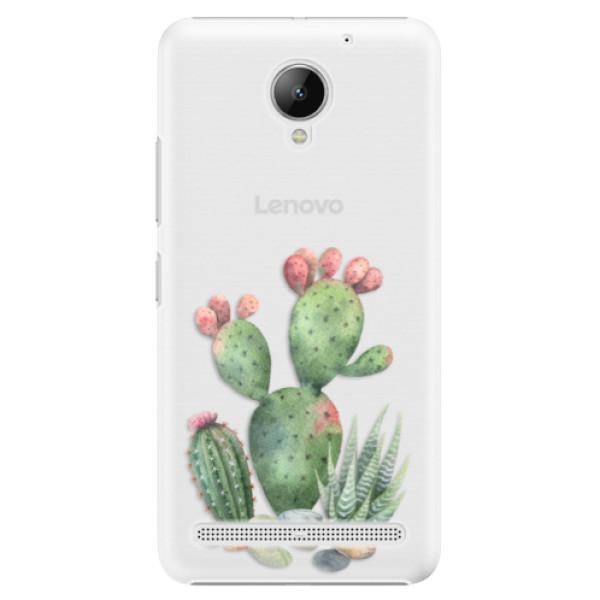 Plastové puzdro iSaprio - Cacti 01 - Lenovo C2