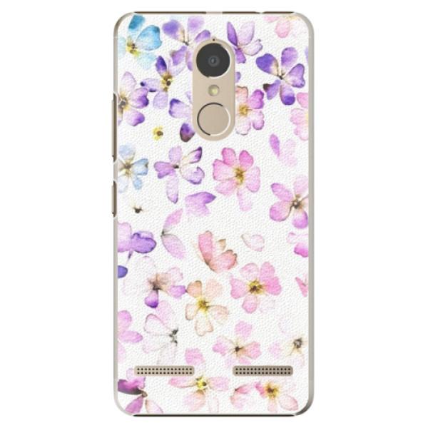 Plastové puzdro iSaprio - Wildflowers - Lenovo K6