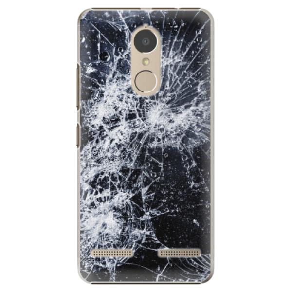 Plastové puzdro iSaprio - Cracked - Lenovo K6