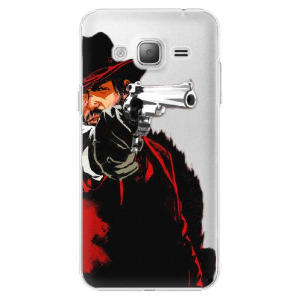 Plastové puzdro iSaprio - Red Sheriff - Samsung Galaxy J3