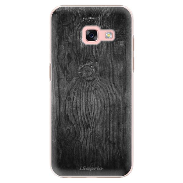 Plastové puzdro iSaprio - Black Wood 13 - Samsung Galaxy A3 2017