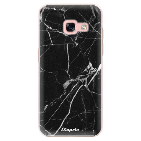 Plastové puzdro iSaprio - Black Marble 18 - Samsung Galaxy A3 2017