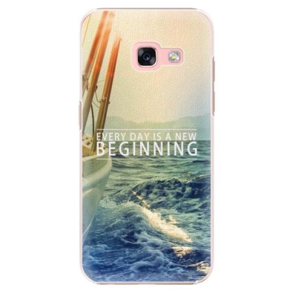 Plastové puzdro iSaprio - Beginning - Samsung Galaxy A3 2017