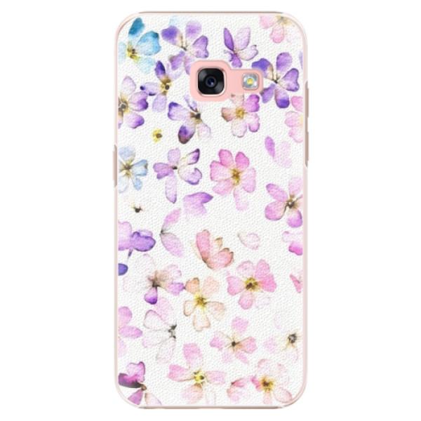 Plastové puzdro iSaprio - Wildflowers - Samsung Galaxy A3 2017