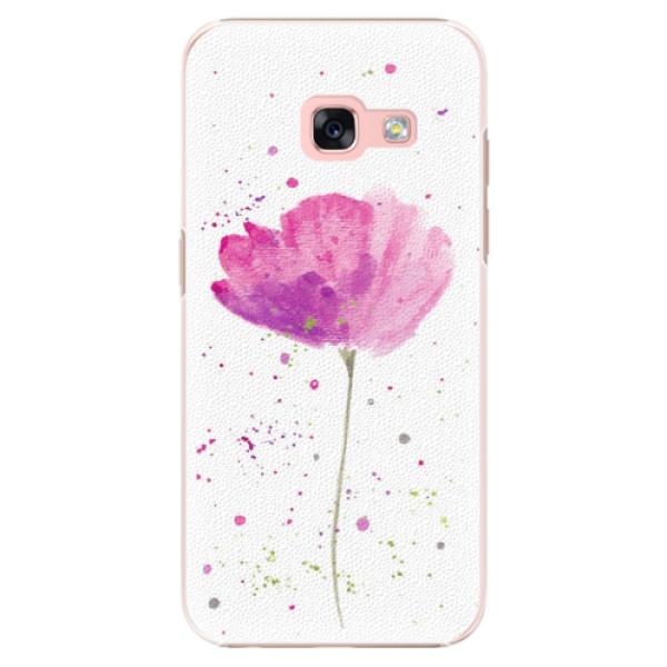 Plastové puzdro iSaprio - Poppies - Samsung Galaxy A3 2017