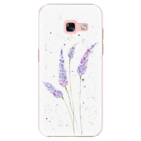 Plastové puzdro iSaprio - Lavender - Samsung Galaxy A3 2017