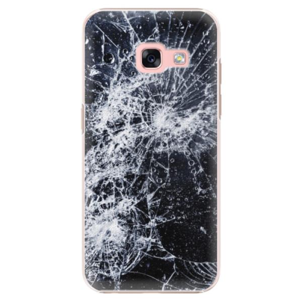 Plastové puzdro iSaprio - Cracked - Samsung Galaxy A3 2017