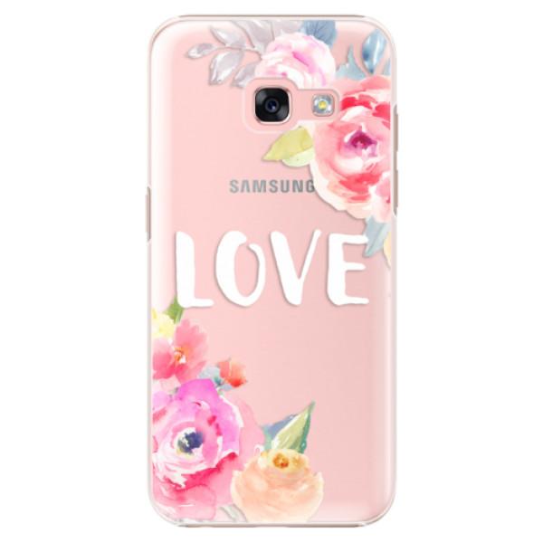 Plastové puzdro iSaprio - Love - Samsung Galaxy A3 2017