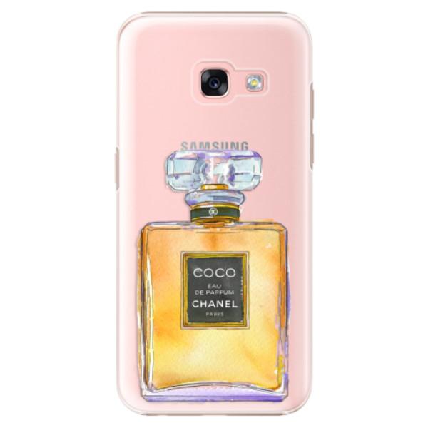 Plastové puzdro iSaprio - Chanel Gold - Samsung Galaxy A3 2017