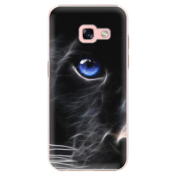 Plastové puzdro iSaprio - Black Puma - Samsung Galaxy A3 2017