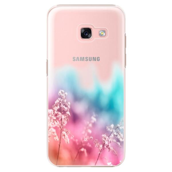 Plastové puzdro iSaprio - Rainbow Grass - Samsung Galaxy A3 2017