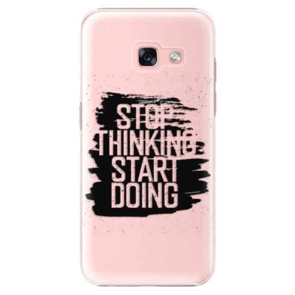 Plastové puzdro iSaprio - Start Doing - black - Samsung Galaxy A3 2017