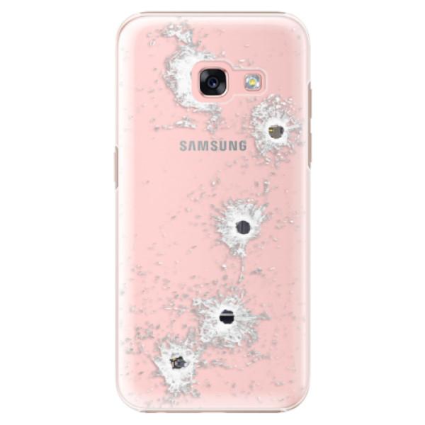 Plastové puzdro iSaprio - Gunshots - Samsung Galaxy A3 2017