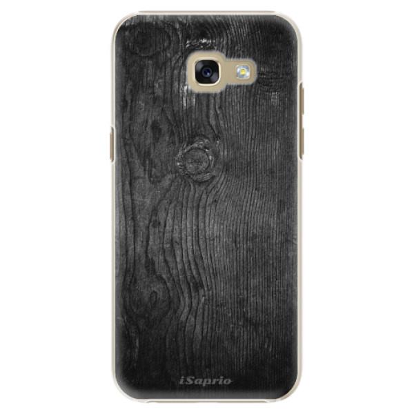 Plastové puzdro iSaprio - Black Wood 13 - Samsung Galaxy A5 2017