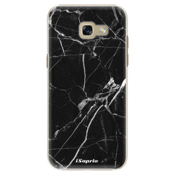 Plastové puzdro iSaprio - Black Marble 18 - Samsung Galaxy A5 2017